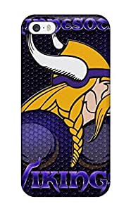 Snap-on Case Designed Case For Iphone 4/4S Cover Minnesota Vikings