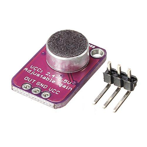 CJMCU-4466 MAX4466 Electret Microphone Adjustable Amplifier CMA-4544PF-W For Arduino - Arduino Compatible SCM & DIY Kits