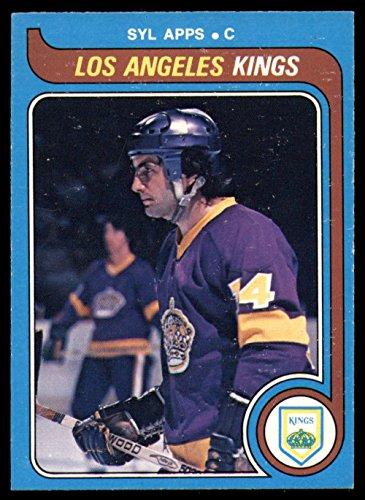 Hockey NHL 1979-80 O-Pee-Chee #366 Syl Apps Jr. NM-MT Kings OPC ()