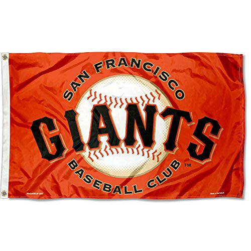 WinCraft San Francisco Giants Orange Flag and Banner
