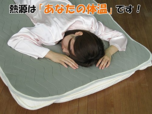 あったか 敷きパッド 汚れてもご家庭で 丸洗い できます。 生活 【敷パット】ホットリフレクト敷パッド セミダブル B00P8WPX84