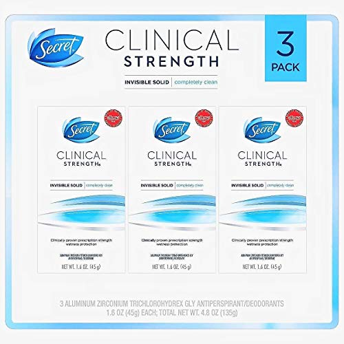 Secret Clinical Strength Invisible Solid Deodorant