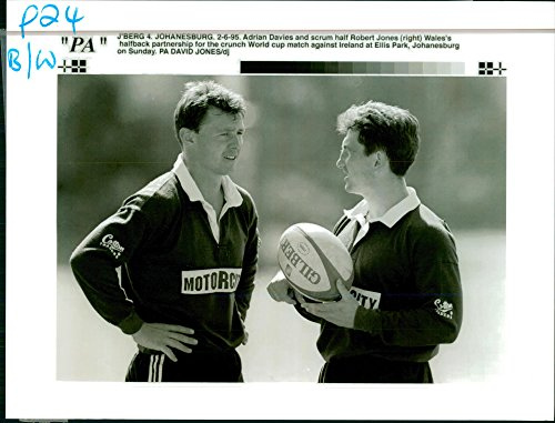 Cup Adrian (Vintage photo of 1995 Rugby World Cup (adrian davies))