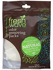 Fresh Wave Continuous Release Odor Removing Packs, 6 count