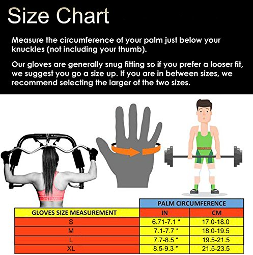 Tourdarson Weight Lifting Gloves for Women & Men