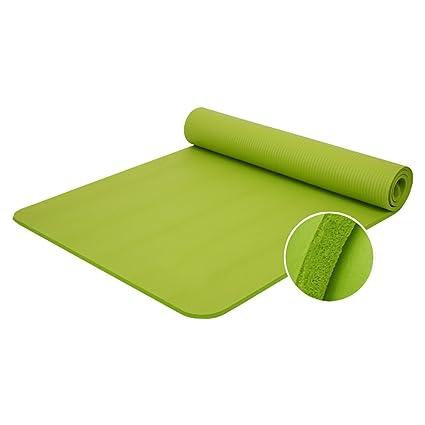 ZENUTA Esterilla de Yoga Gruesa y Suave 10-15mm Alfombra de Gimnasia Colchón para Yoga Colchoneta Antideslizante para Fitness Deporte Pilates masajes ...