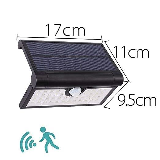 Solar Sensor de Movimiento Foco Proyector LED, 14/42/58 LED ...
