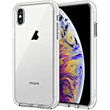 JETech Case for Apple iPhone XS Max 6.5-Inch, Shock-Absorption Bumper Cover, HD Clear