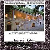 Mozart: Piano Sonatas Nos. 8, 15 / Allegro, Andante No. 14 + Rondo No. 8 (Prague Spring Collection)