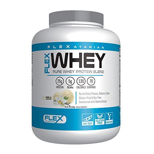 Flexatarian 100 Whey Protein, Vanilla, 5 Pound