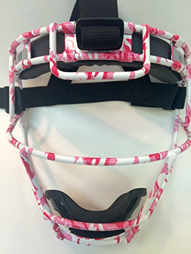 Youth Custom Schutt Pink Digi Camo Infielder Face Guard by Schutt