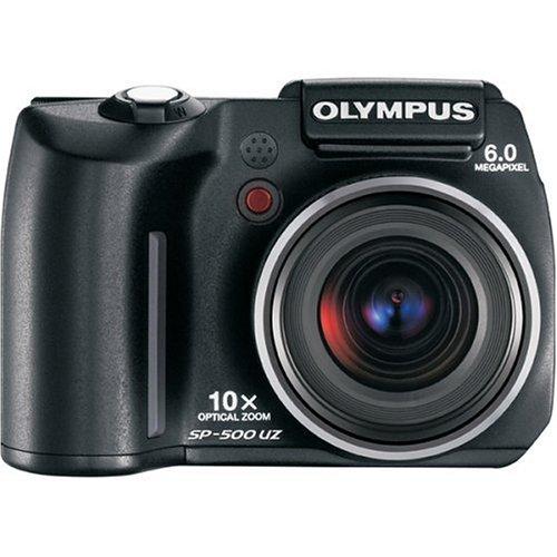 Olympus SP 500 UZ Ultra Zoom 6MP Digital Camera With 10x Optical High