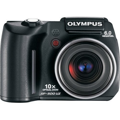 Olympus SP-500 UZ Ultra Zoom 6MP Digital Camera with 10x ...