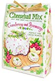 Cranberry and Rosemary 2.5 ounce All Natural Dry Ingredients Cheeseball Mix