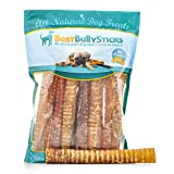 Best Bully Sticks 100% Natural 12-Inch Beef Trachea Dog Chews by (12 Pack) Review