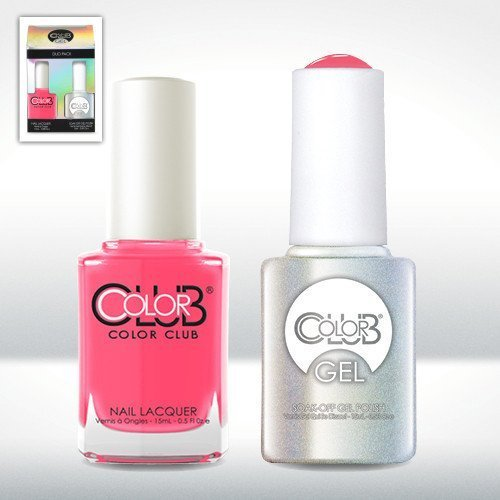Color Club Gel JACKIE OH! Neon Gel Nail Polish Duo Set by Co