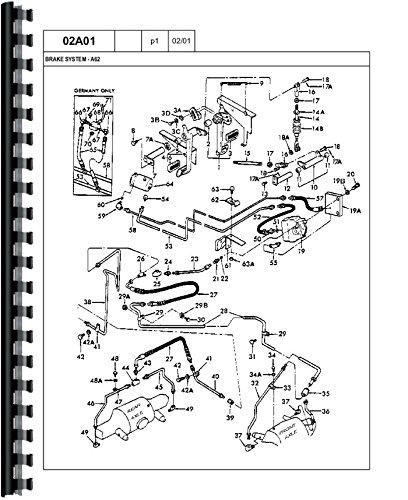 Ford A-62 Wheel Loader Parts (Wheel Loader Parts Manual)