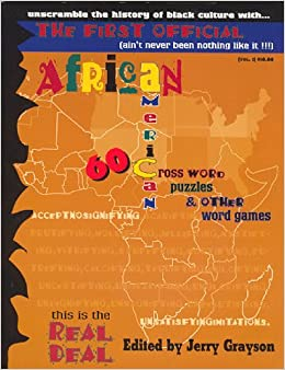 African American Crossword Puzzles & Other Word Games: Jerry Grayson ...