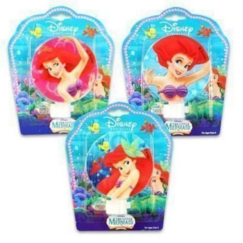 (Disney Princess Ariel Night Light - Little Mermaid room nursery lights )