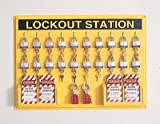 Complete Lockout Station Includes: -20 3D, -4 ELA290, -6 R60ML