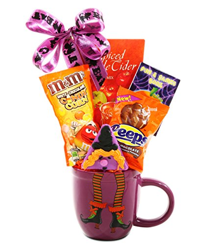 Witch's Brew Halloween Gift | Cocoa, Candy and a Fun & Games Book