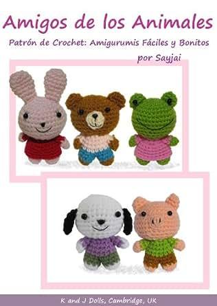 Amazon.com: Amigos de los Animales Patrón de Crochet