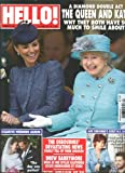 Hello Magazine # 1231 (June 25,2012,The Queen and Kate)