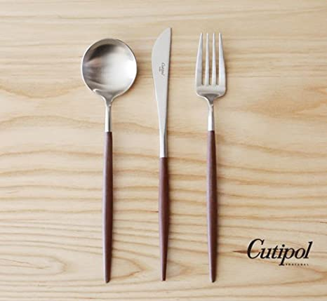 Amazon.com: cutipol Goa café/Plata Series Home Dinner ...