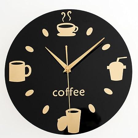 L&L LLL-Inicio Moda Tarjeta Personal Creativo del Reloj de Pared ...