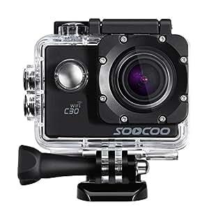 sports camera soocoo c30 4k action camera. Black Bedroom Furniture Sets. Home Design Ideas