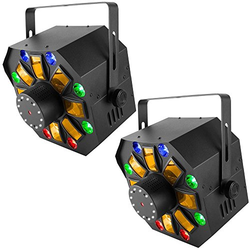 Chauvet Swarm Wash FX 4-in-1 Laser & LED Effect Light ()