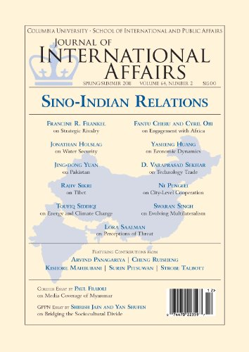 Columbia Journal (Sino-Indian Relations (Spring/Summer 2011) (Journal of International Affairs Book 64))