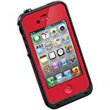 Waterproof Shockproof Dirtproof Snowproof Protection Case Cover for Apple Iphone 4 4s 4g Red