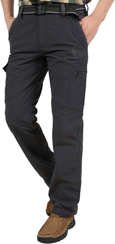 Sylar Pantalones De Trabajo De Hombre Invierno Shell Soft Impermeable A Prueba De Viento Pantalones Al Aire Libre Pantalones De Gore M 4xl Amazon Es Ropa Y Accesorios