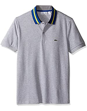 Men's Short Sleeve Resort Semi-Fancy Polo