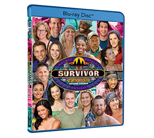 Survivor: Cambodia - Second Chance - S31 (4 Discs) [Blu-ray]