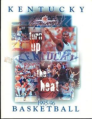1995 - 1996 Kentucky basketball media press guide bkbx23