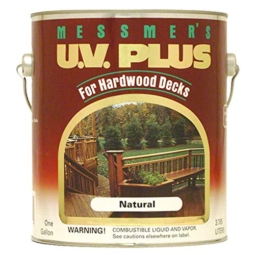 MESSMER's MH-500-1 Hard INC MH-500-1 Gallon Natural Hardwood UV Finish ()