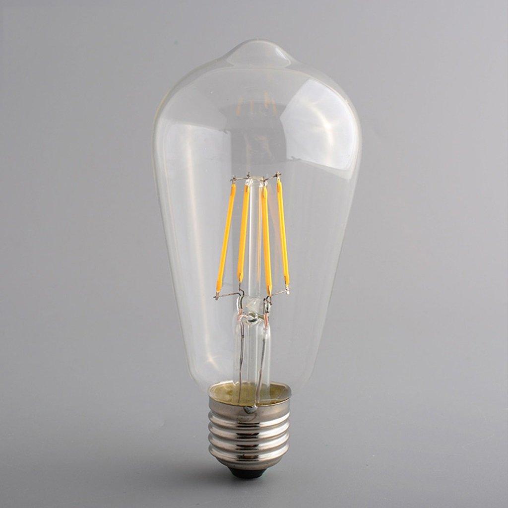 Ampoule Hélicoïdale Ampoules Rétro Vis E27 Led 4w SpUzqMV