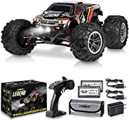 1:10 Scale Large RC Cars 48+ kmh Speed - Boys Remote Control Car 4x4 Off Road Monster Truck Electric - All Ter