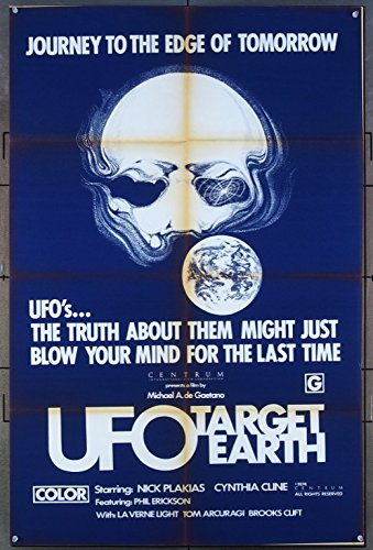 UFO Target Earth Movie Poster