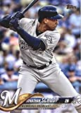 2018 MLB Topps Update US287 Jonathan Schoop Milwaukee Brewers Official Baseball Trading Card