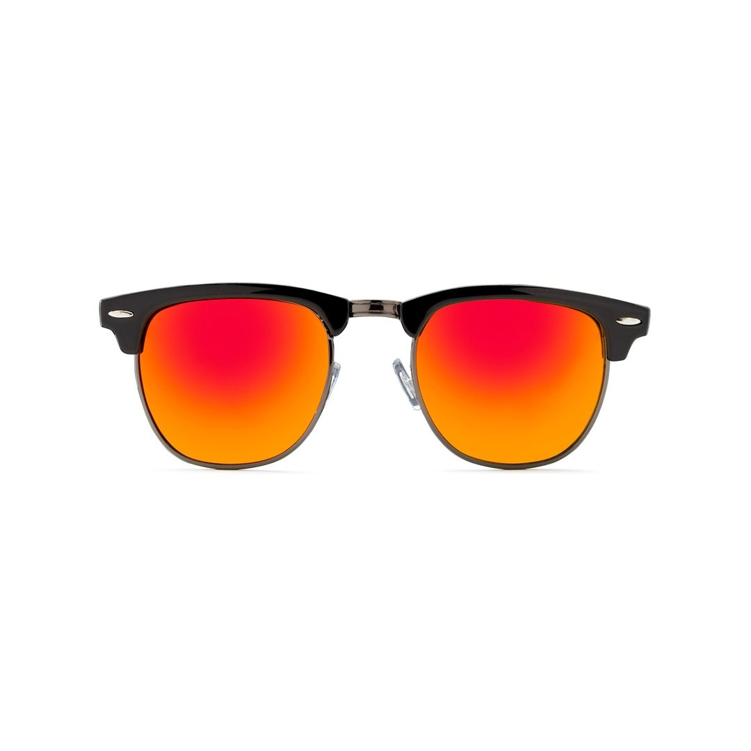 California Style Co. Charly Sheen Gafas de Sol, Naranja, 140 ...
