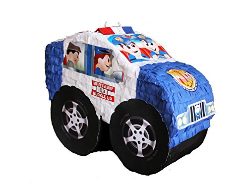 Car Pinata (Kid Police Car Pinata)