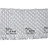 """Mini Pak'r MINP16612 Small Bubble Quilt Cushion Roll, 16"""" Length x 6"""" Width x 1/2"""" Thick, 650' Overall Length, Clear"""