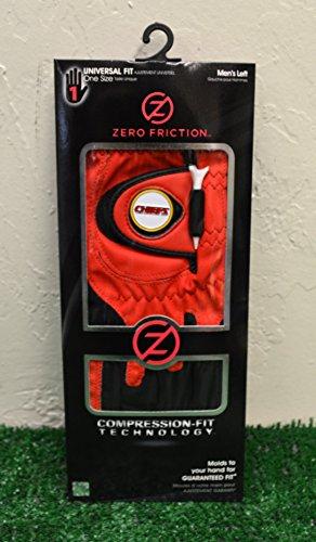 Zero Friction Men's Left Hand Universal Golf Glove - Kansas City Chiefs - Red - Kansas City Chiefs Glove