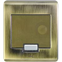 ON-Q Selective Call Intercom - Outdoor Station Selective Call Antique Brass Door Unit (IC5002-AB)