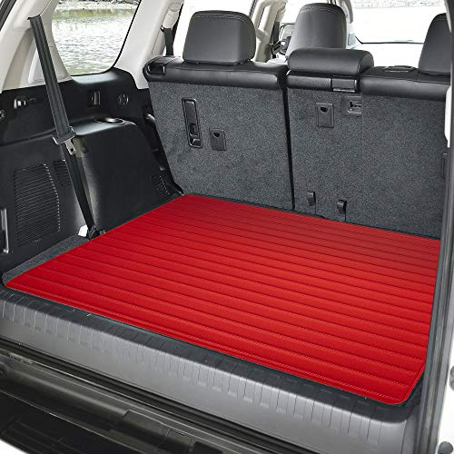 2013 Lexus Rx400h - FH Group F16500 Deluxe Heavy-Duty Faux Leather Multi-Purpose Cargo Liner, Striped, 32