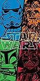 Official Star Wars Force Beach Bath Cotton Towel Vader Chewie Trooper Fett