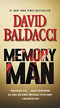 Memory Man by David Baldacci ebook deal